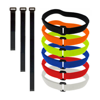 25mm Wide Adjustable Ring Strap with VELCRO® Brand Tape