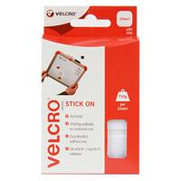Velcro WHITE Hook /& Loop Tape EC6 VELCRO® Heavy Duty Stick On Tape 50mm x 100mm