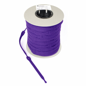 VELCRO® Brand ONE-WRAP® Cable Ties 20mm x 200mm x 750 - Purple