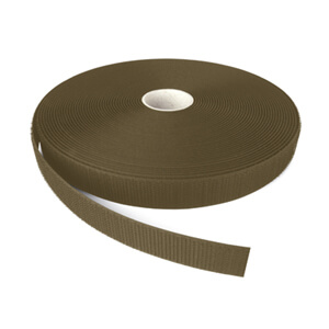 Alfatex® 25mm Army Green Sew On HOOK Tape 25m