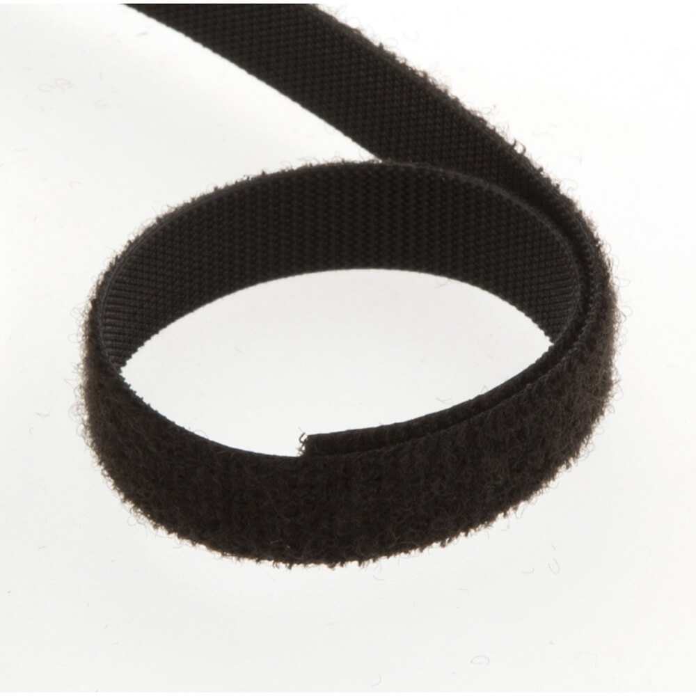 10mm Wide Velcro 174 Brand One Wrap 174 Strap Black