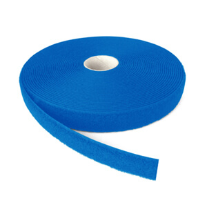 Alfatex® 25mm Royal Blue Sew On LOOP Tape 25m